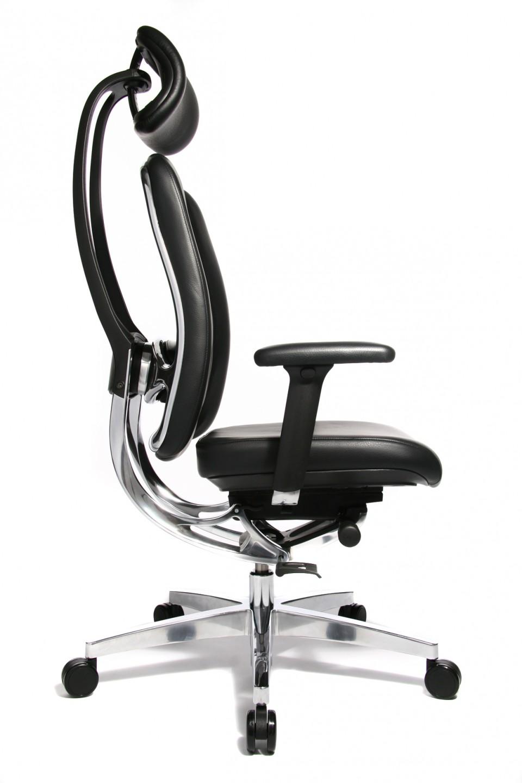 site réputé 676b4 47be4 Fauteuil de direction cuir Haut de gamme Alumedic Ltd S ...