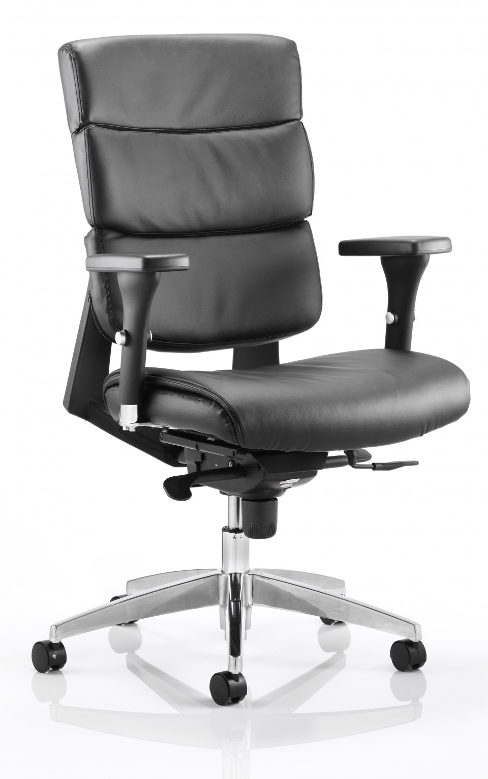 Fauteuil de bureau cuir aura achat si ges ergonomiques - Siege bureau cuir ...