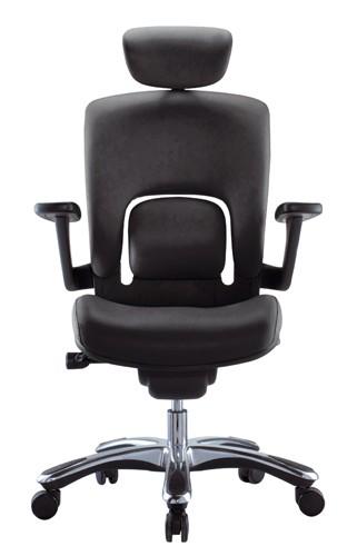 Fauteuil de bureau cuir ergo tech achat fauteuils de - Fauteuil de bureau solide ...