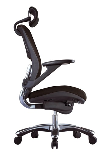 fauteuil de bureau cuir ergo tech achat fauteuils de direction 594 00. Black Bedroom Furniture Sets. Home Design Ideas