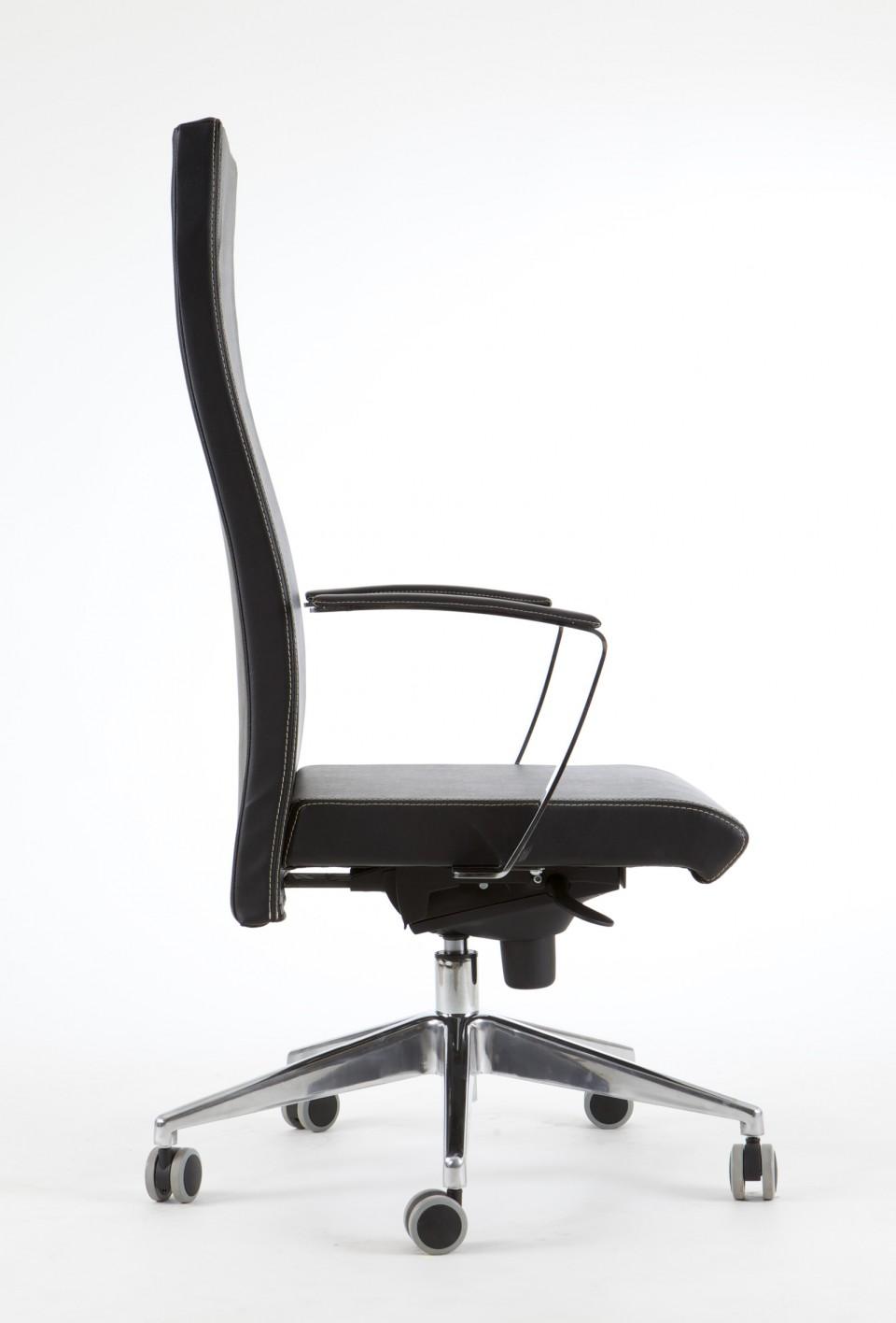 fauteuil de bureau cuir ness achat fauteuil de bureau cuir 654 00. Black Bedroom Furniture Sets. Home Design Ideas