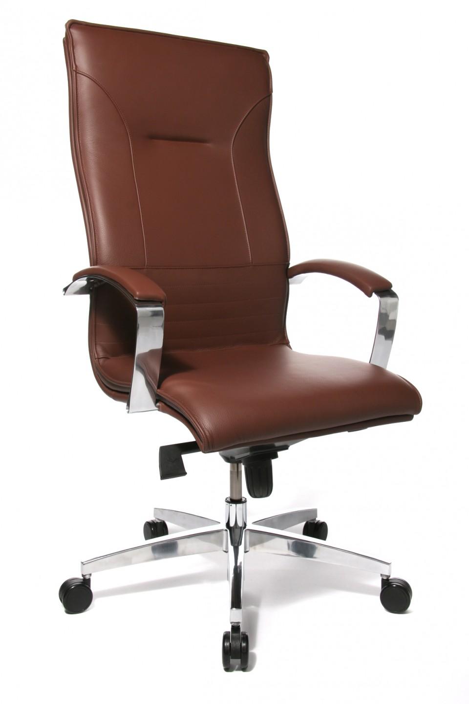 Fauteuil de bureau cuir prestige achat fauteuils de - Siege bureau cuir ...