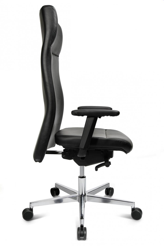 Fauteuil de bureau cuir quadro achat fauteuils de - Roulette pour fauteuil de bureau ...