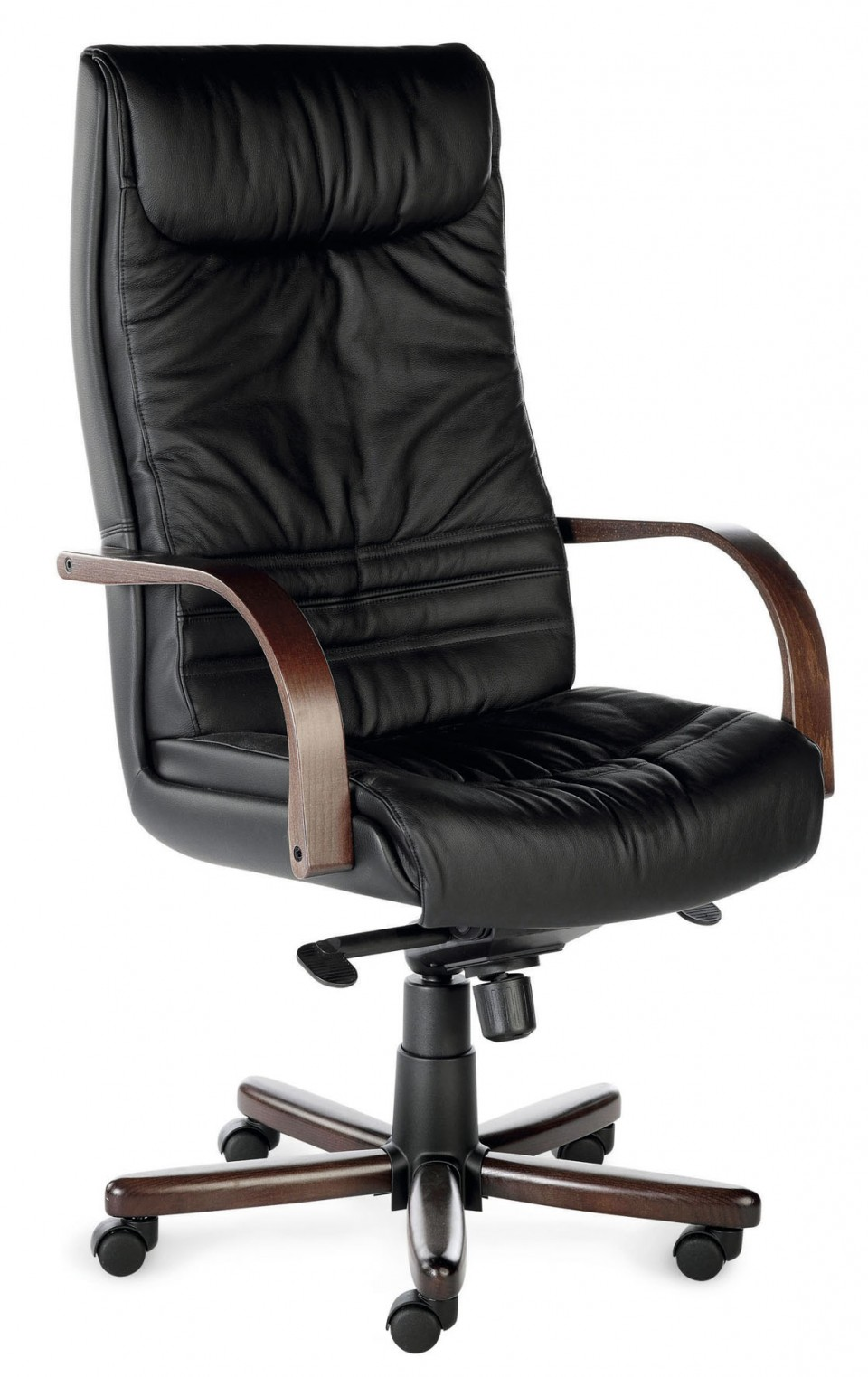 fauteuil de bureau cuir robin achat fauteuils de direction 599 00. Black Bedroom Furniture Sets. Home Design Ideas