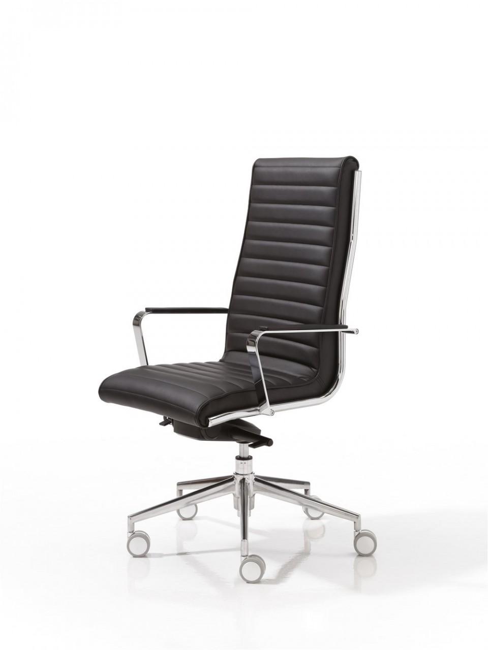 Fauteuil de bureau cuir tery achat fauteuil de bureau - Chaise de bureau knoll ...