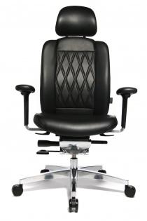 Sièges ergonomiques - Fauteuil de direction cuir Haut de gamme Alumedic Ltd S