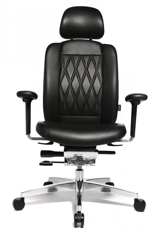 fauteuil de direction cuir haut de gamme alumedic ltd s achat si ges ergonomiques 1 339 00. Black Bedroom Furniture Sets. Home Design Ideas