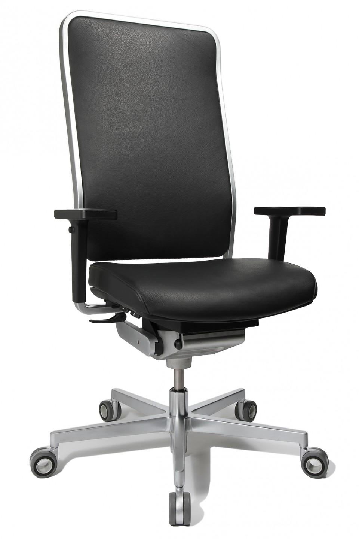 Fauteuil haut de gamme w1 cuir achat si ges ergonomiques - Fauteuil de bureau haut ...