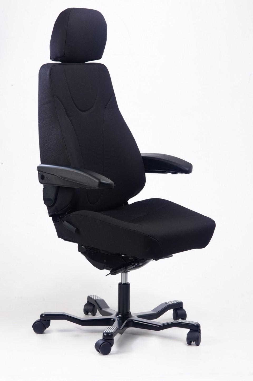 Chaise de bureau usage intensif - Fauteuil ergonomique pour ordinateur ...