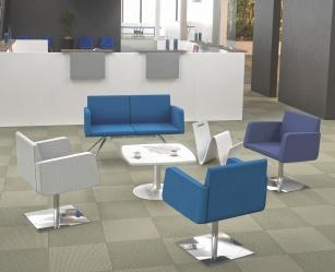 Fauteuils d'accueil, canapés & chaises salle d'attente - Banquette 2 places Easy