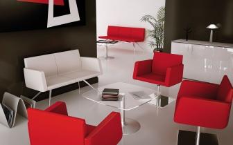 Fauteuils d'accueil, canapés & chaises salle d'attente - Banquette 3 places Easy