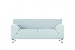 Fauteuils d'accueil, canapés & chaises salle d'attente - Canapé 2 places Hexa