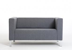 Fauteuils d'accueil, canapés & chaises salle d'attente - Canapé 2 places Kube
