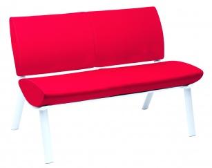 Fauteuils d'accueil, canapés & chaises salle d'attente - Canapé 2 places MILANO