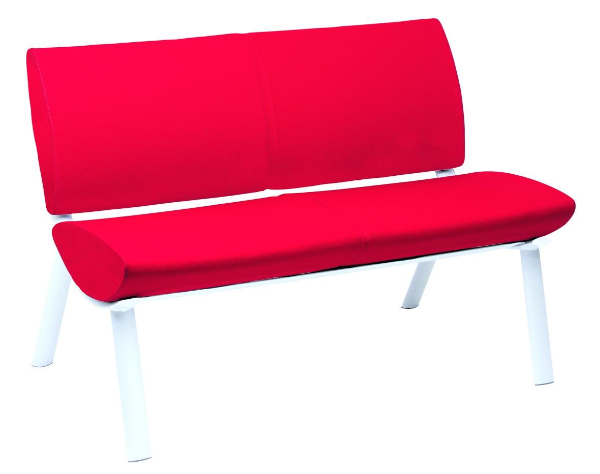 canap 2 places milano achat fauteuils d 39 accueil canap s chaises salle d 39 attente 680 00. Black Bedroom Furniture Sets. Home Design Ideas