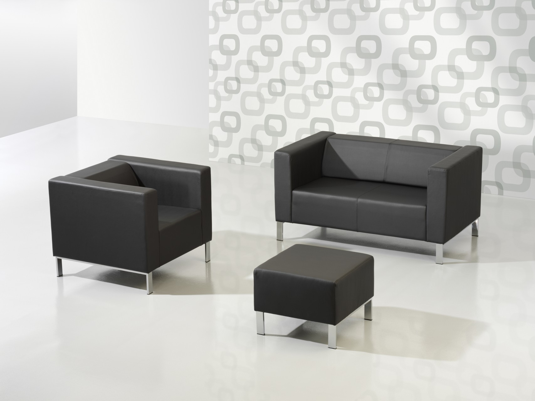 canap 3 places kube achat fauteuils d 39 accueil canap s. Black Bedroom Furniture Sets. Home Design Ideas