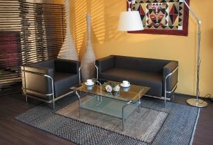 Fauteuils d'accueil, canapés & chaises salle d'attente - Canapé Carré d'As