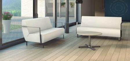 Fauteuils d'accueil, canapés & chaises salle d'attente - Canapé Tempi 2 et 3 Places