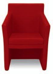 Fauteuils d'accueil, canapés & chaises salle d'attente - Chauffeuse Club Square