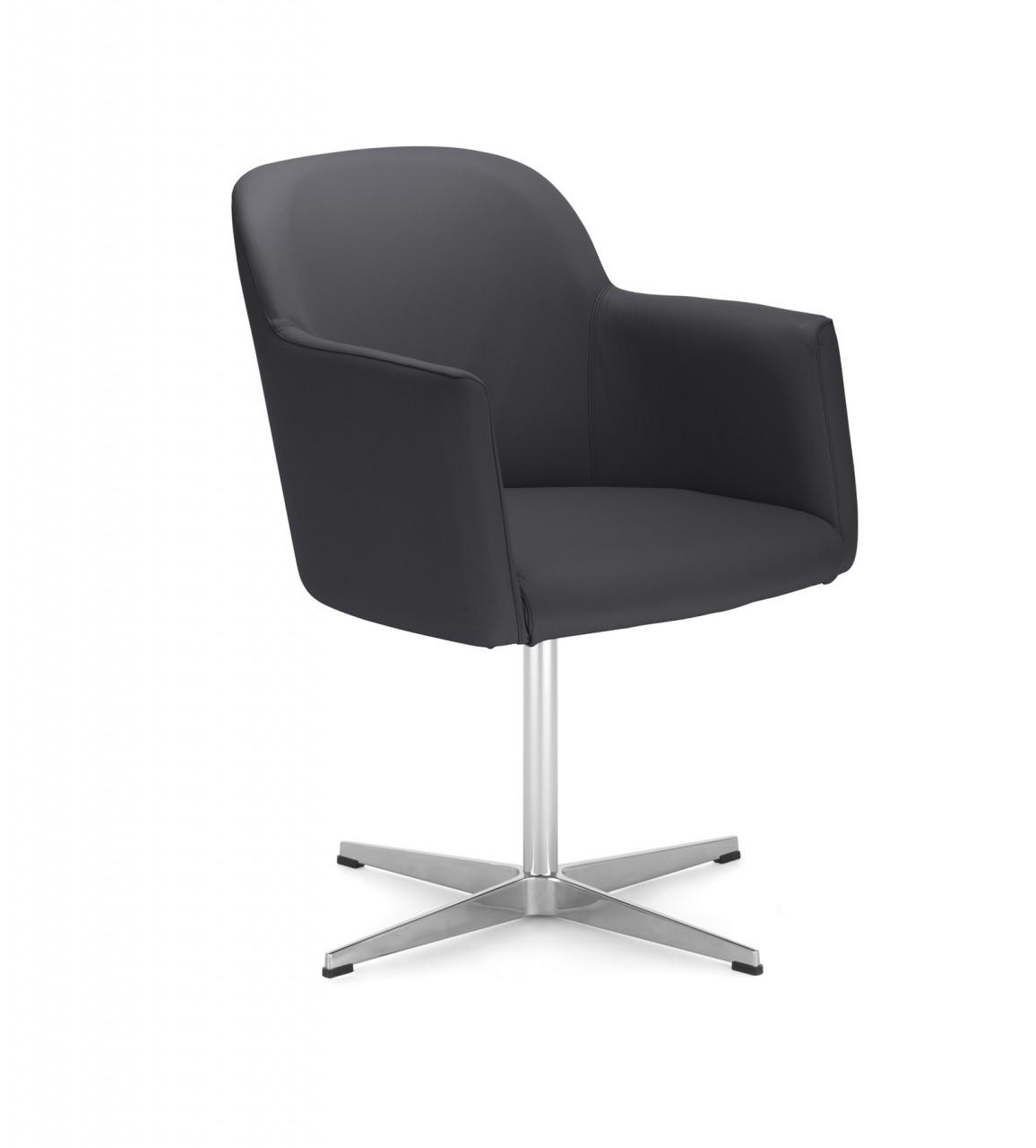 fauteuil d 39 accueil athis noir achat fauteuils d 39 accueil canap s chaises salle d 39 attente. Black Bedroom Furniture Sets. Home Design Ideas