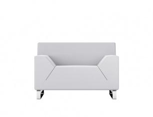 Fauteuils d'accueil, canapés & chaises salle d'attente - Fauteuil d'accueil Hexa