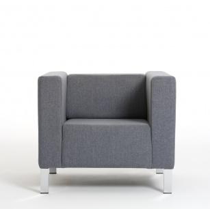 Fauteuils d'accueil, canapés & chaises salle d'attente - Fauteuil d'accueil Kube
