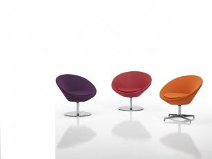 Fauteuils d'accueil, canapés & chaises salle d'attente - Fauteuil d'accueil Lune