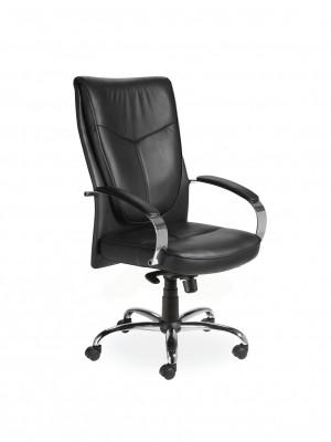 fauteuil cuir boston achat fauteuils de direction 289 00. Black Bedroom Furniture Sets. Home Design Ideas