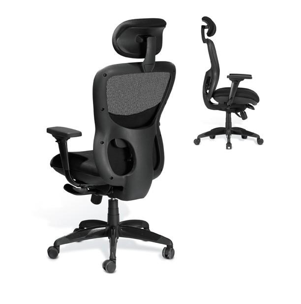 Fauteuil de bureau ergonomique athos achat si ges - Fauteuil de bureau confort ...