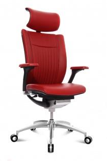Sièges ergonomiques - Fauteuil de direction cuir haut de gamme Titan Ltd S