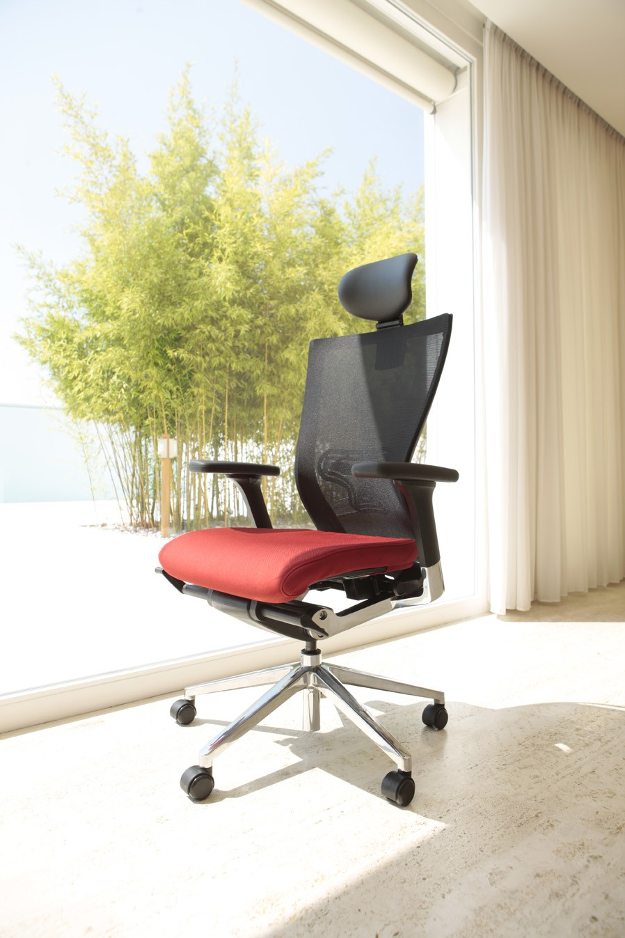 fauteuil direction tissu ergonomique x chair achat si ges ergonomiques 599 00. Black Bedroom Furniture Sets. Home Design Ideas