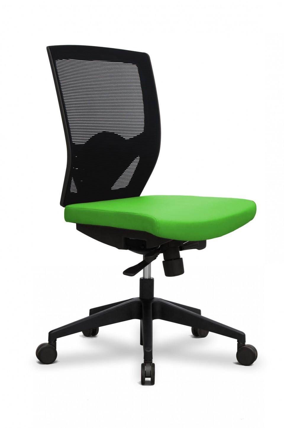 Roulette siege de bureau fauteuil chaise de bureau sans for Fauteuil de bureau sans accoudoir pas cher
