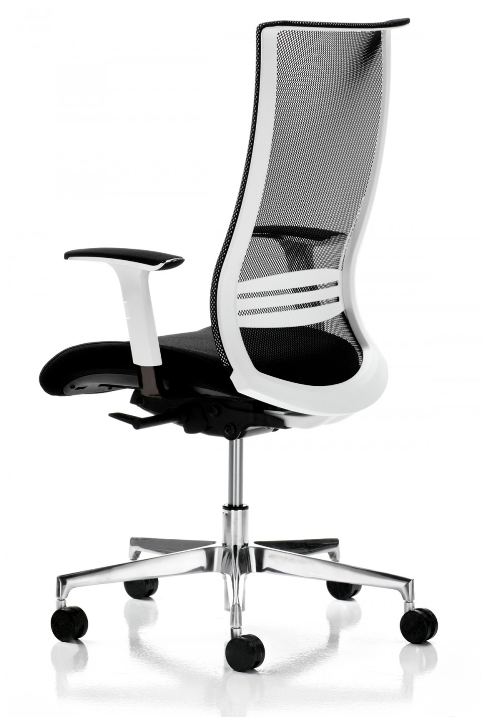 fauteuil bureau ergonomique wave blanc achat si ges de. Black Bedroom Furniture Sets. Home Design Ideas