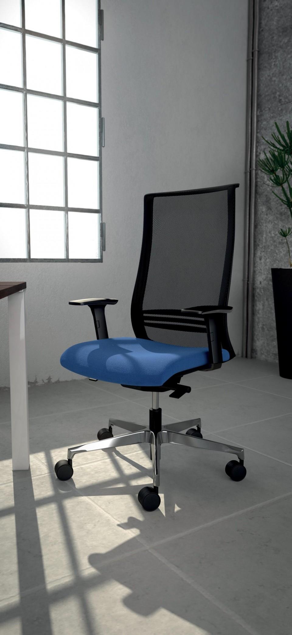 Fauteuil bureau ergonomique wave noir achat si ges de bureau 445 00 - Fauteuils ergonomiques bureau ...