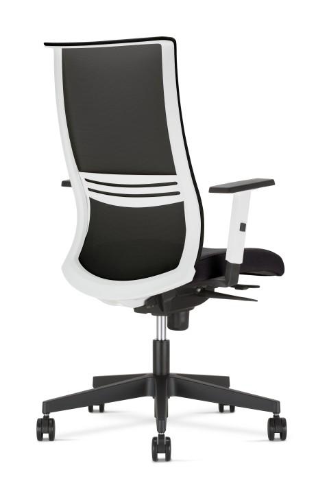 Fauteuil de bureau ergonomique ALTIS cadre blanc