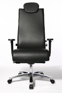 Fauteuil bureau Cuir - Fauteuil de bureau Ergonomique Big Chair Cuir