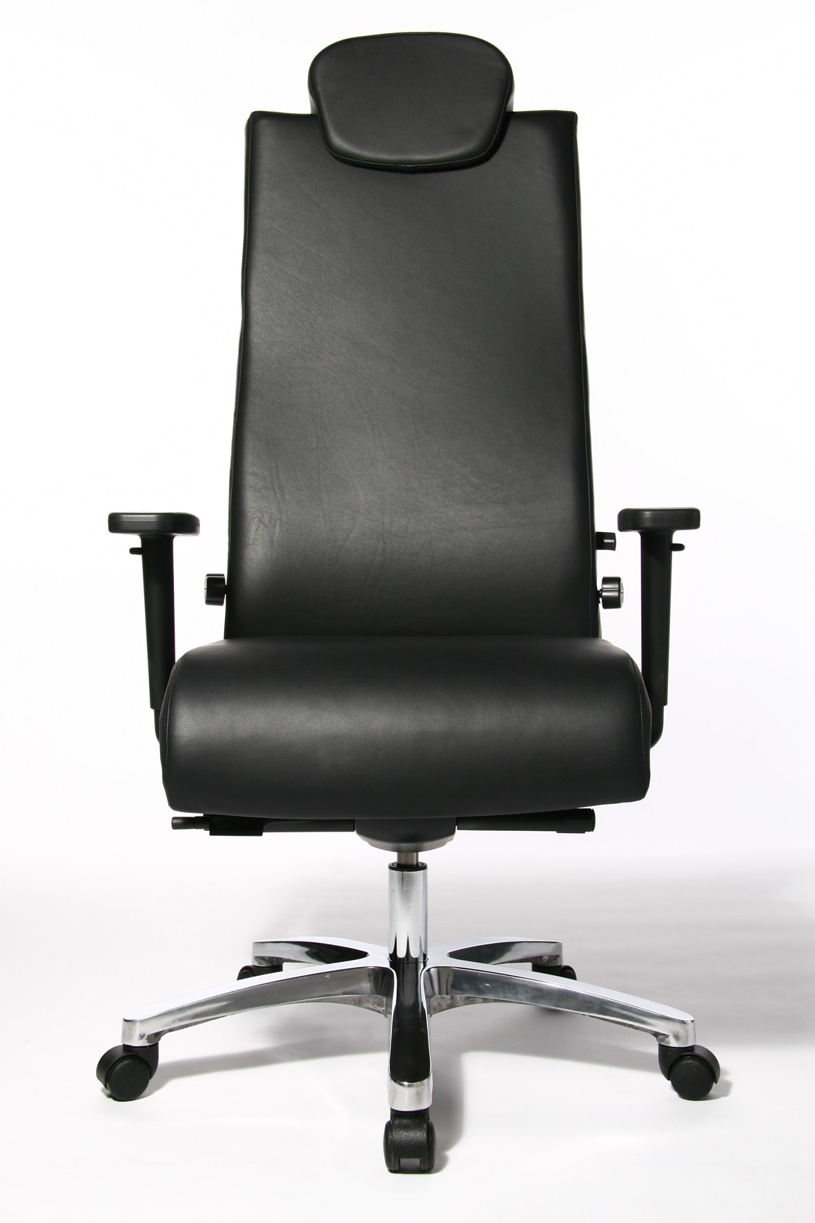Fauteuil De Bureau Ergonomique Big Chair Cuir Achat Fauteuil