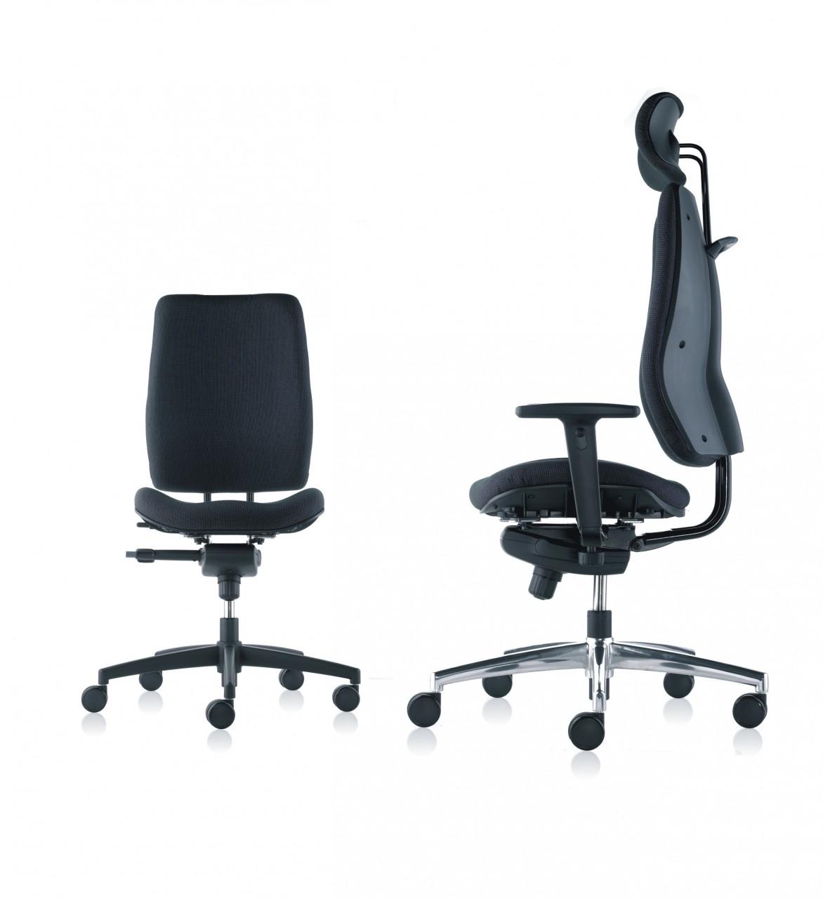 fauteuil de bureau ergonomique confortic achat si ges. Black Bedroom Furniture Sets. Home Design Ideas