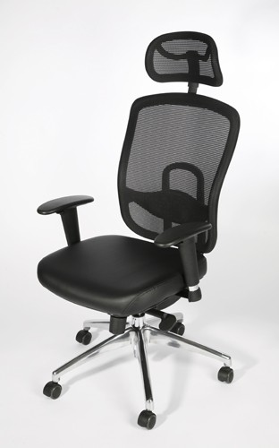 fauteuil de bureau ergonomique ergo cuir achat si ges de bureau 359 00. Black Bedroom Furniture Sets. Home Design Ideas