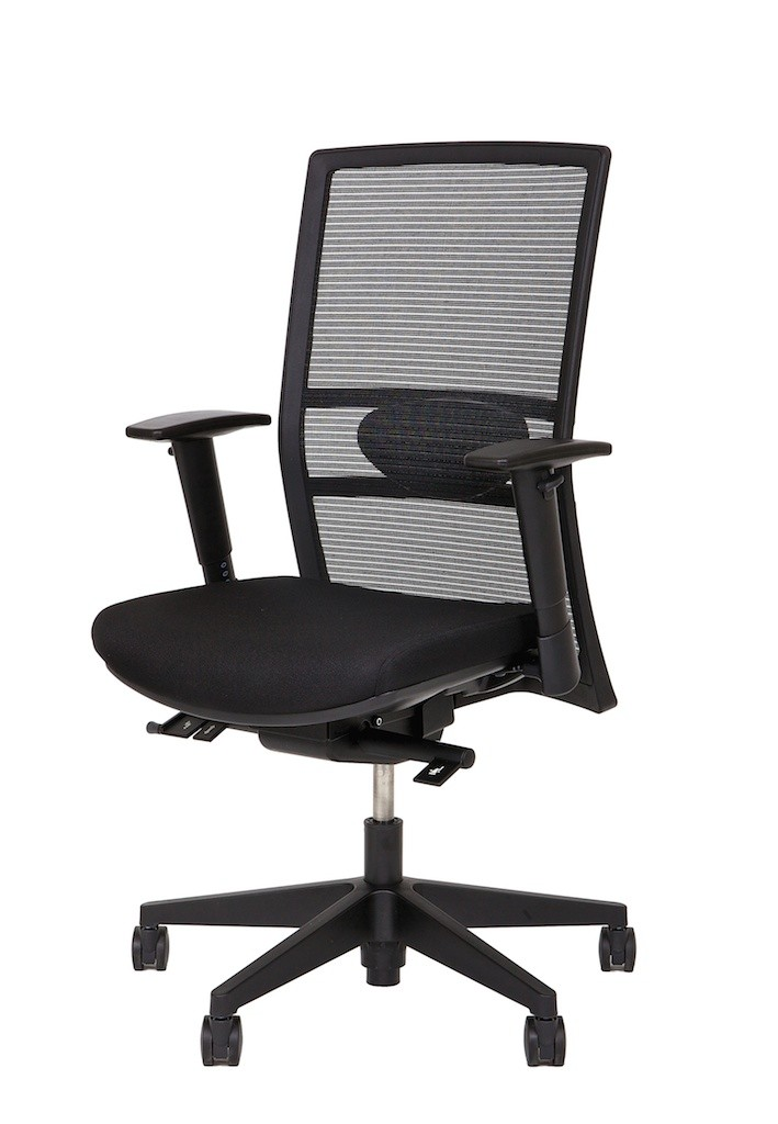 fauteuil de bureau ergonomique quadra achat si ges ergonomiques 395 00. Black Bedroom Furniture Sets. Home Design Ideas