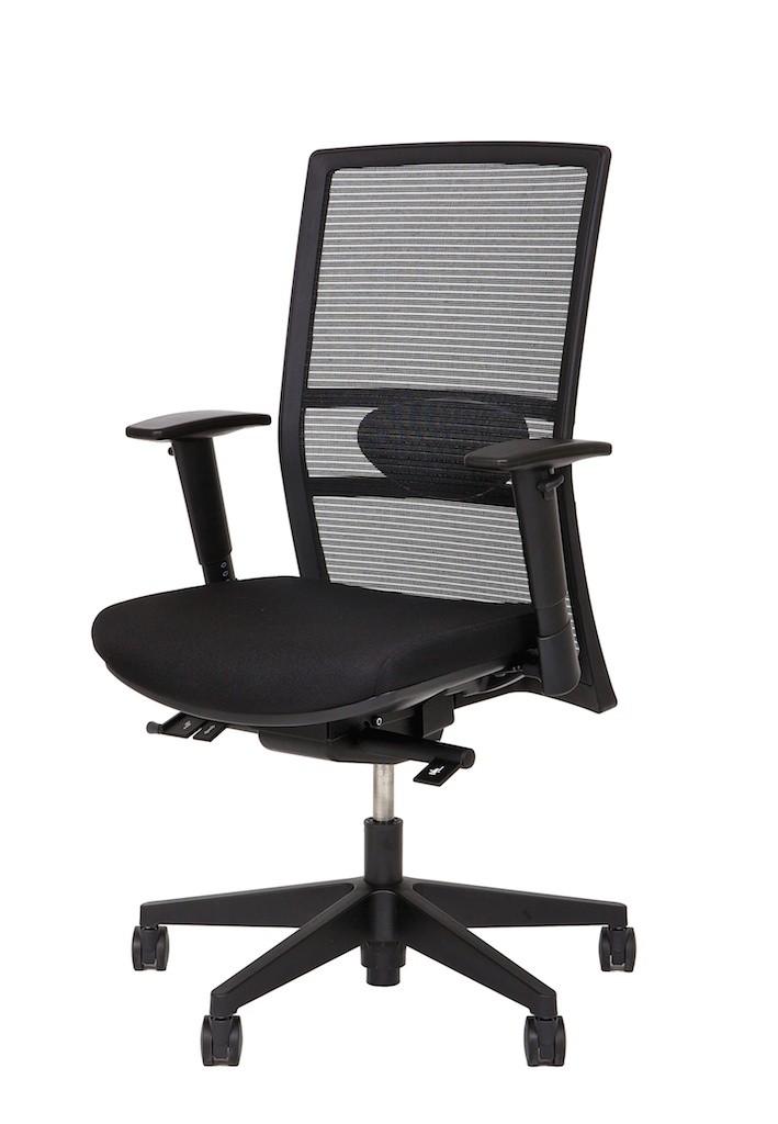 fauteuil de bureau ergonomique quadra achat si ges. Black Bedroom Furniture Sets. Home Design Ideas