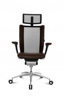 Fauteuil de bureau Cuir - Fauteuil de direction haut de gamme TITAN Ltd