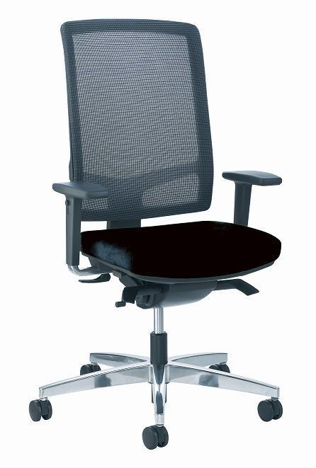 si ge de bureau ergonomique lin a maille achat si ges de bureau 439 00. Black Bedroom Furniture Sets. Home Design Ideas