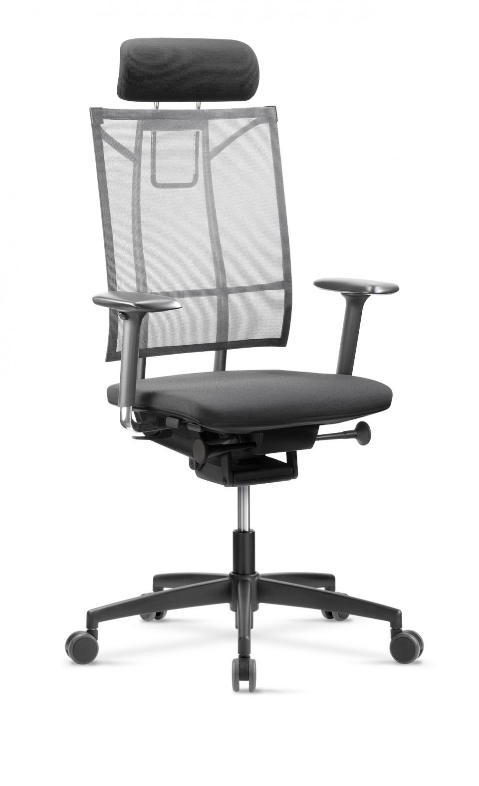si ge de bureau ergonomique sail avec t ti re achat. Black Bedroom Furniture Sets. Home Design Ideas