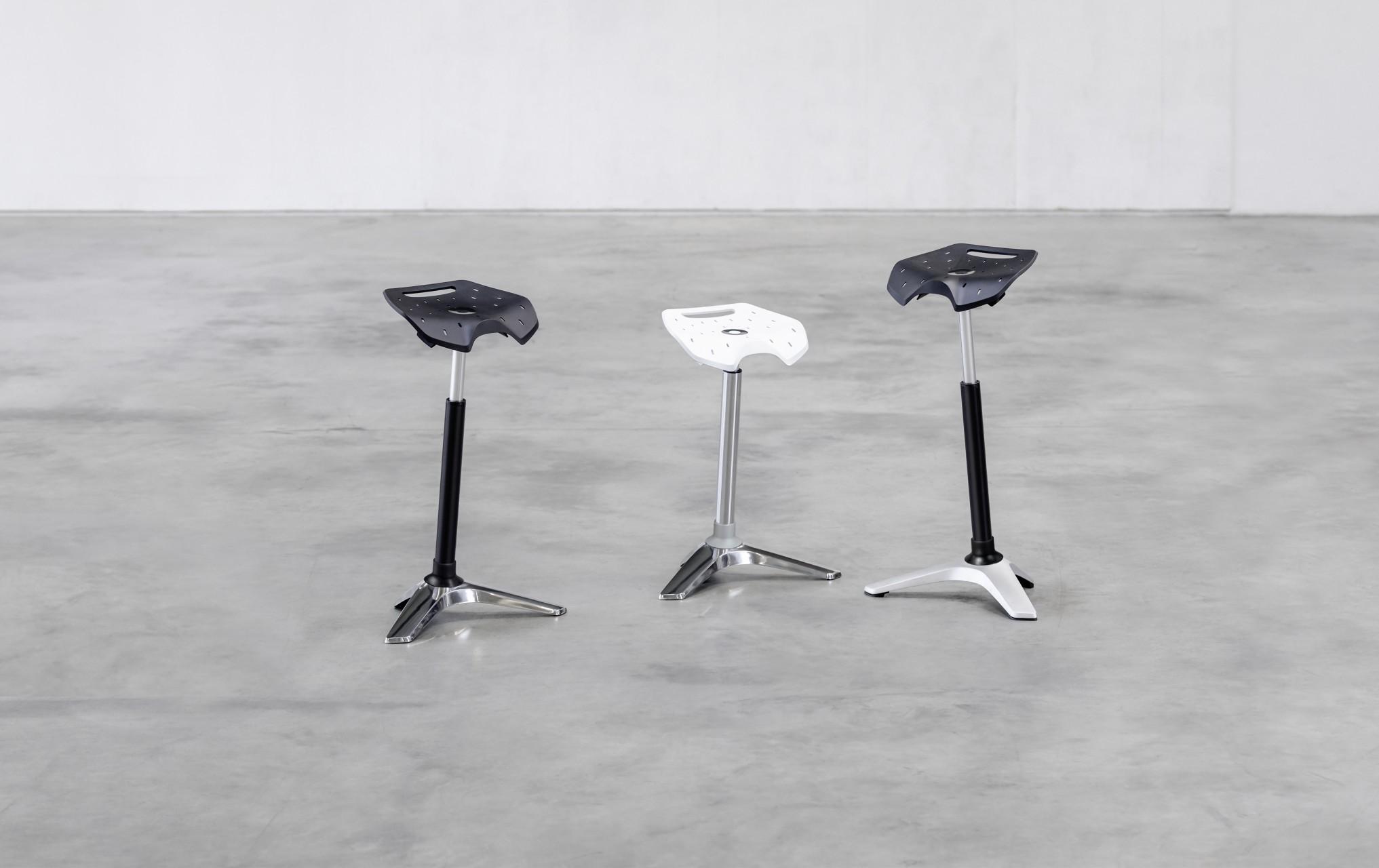 tabouret assis debout ongo stand achat si ge technique votre mobilier professionnel 247 00. Black Bedroom Furniture Sets. Home Design Ideas