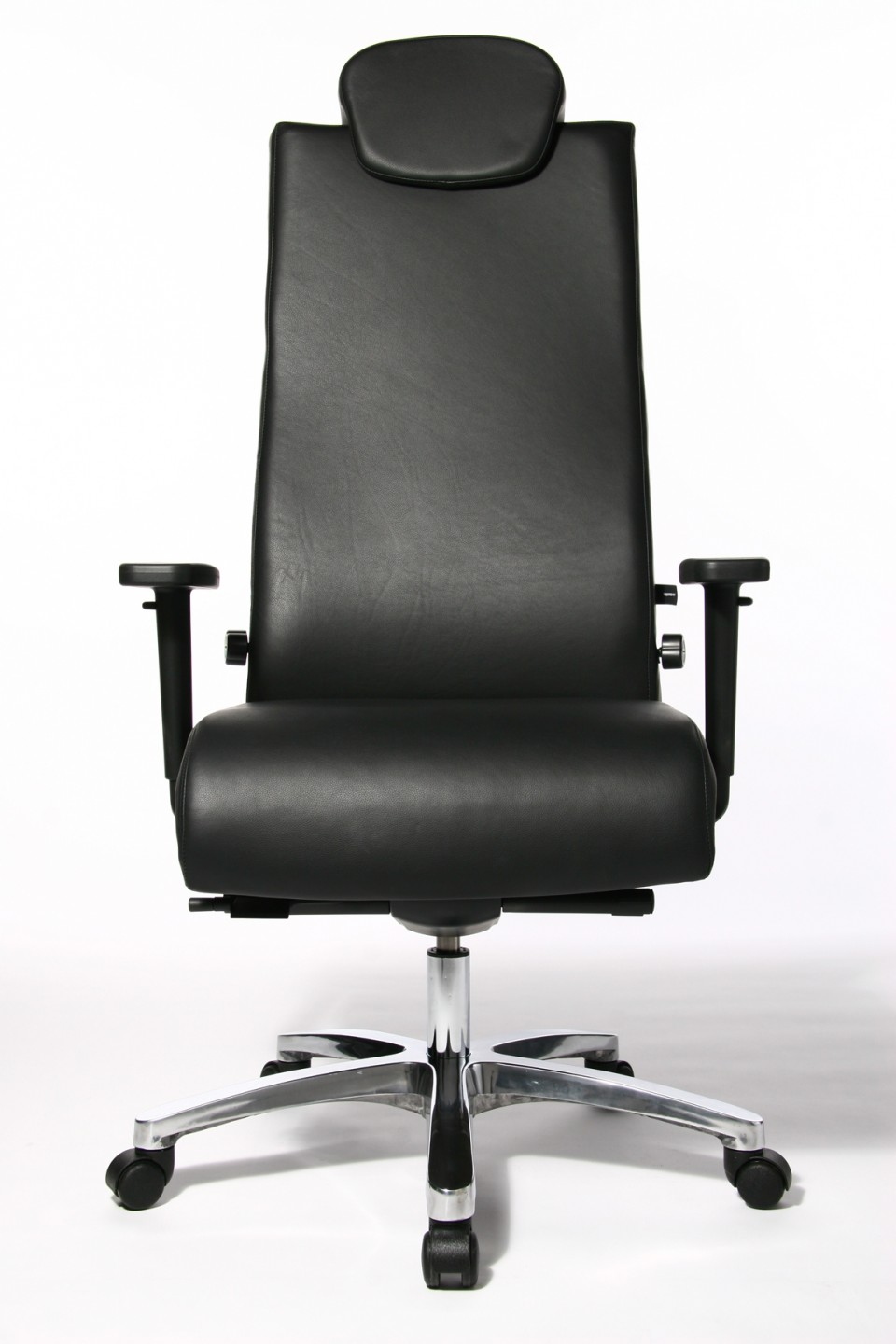 Fauteuil de bureau ergonomique big chair cuir for Fauteuils de bureau design