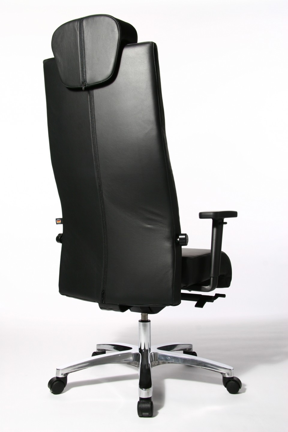 fauteuil de bureau ergonomique big chair cuir. Black Bedroom Furniture Sets. Home Design Ideas