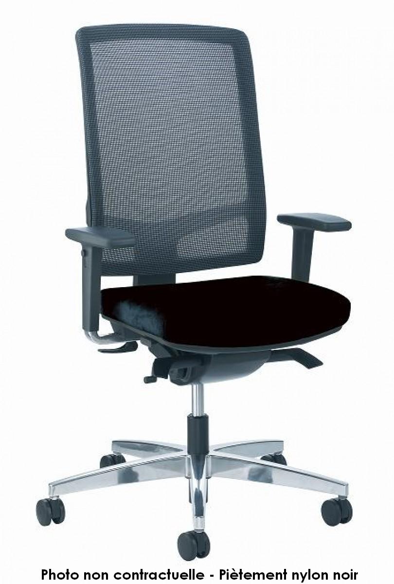 si ge de bureau ergonomique lin a maille. Black Bedroom Furniture Sets. Home Design Ideas