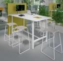 Table connectées - Table Haute connectée Mediacoustic