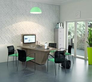 Table connectées - Table Média hauteur bureau connectée